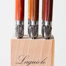 Laguiole Kitchen Knives Laguiole Steak Knife Set K Colette