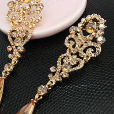 gold earrings for wedding earrings gold drop earrings vintage gold earrings gold orange