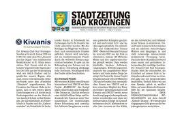 Hieber Bad Krozingen Kiwanis Club Bad Krozingen U0026 Staufen In Der Presse
