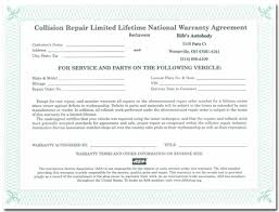 Paintless Dent Repair Estimate Sheet by Services Rife S Autobody