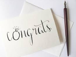 congrats on wedding card how to write wedding cards unicaforma