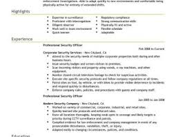 armed security job resume exles armed security guard resume exle pictures hd aliciafinnnoack