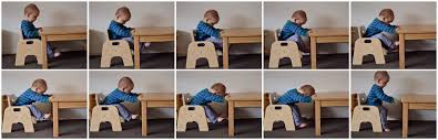 Montessori Weaning Table by Working Sitting Standing At His Table How We Montessori
