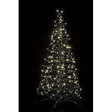 collapsible christmas tree pre lit led 5 ft folds flat collapsible outdoor