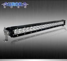 20 single row led light bar aurora 20 inch 100 watt low profile s1 single row led light bar