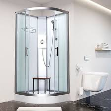 E Shower Door Vidalux E 800mm X 800mm Quadrant Hydro Shower Cubicle Self