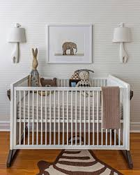 10 animal inspired kids bedrooms tinyme blog eye catching elephant print wallpaper animals in a soothing neutral room 10 animal inspired