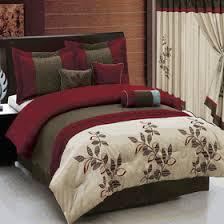 11 u2013 pc pasadena burgundy bed in bag egyptian cotton sheets