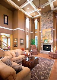 Two Story Family Room Corner Chairs For The Home Pinterest - Two story family room