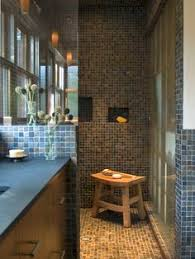 Open Shower Bathroom Design Walk In Doorless Showers For Small Bathrooms Design Ideas Doorless