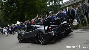 pagani hypercar watching the pagani zonda 760 goodwood hillclimb never gets old