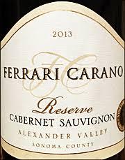 carano reserve cabernet ken s wine review of 2013 carano cabernet sauvignon reserve