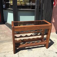 wine rack console table drink more wine vintage wine rack console table casa victoria
