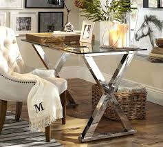 Glass Home Office Desk Home Office Glass Desk View In Gallery Glacier Modern Glass Home