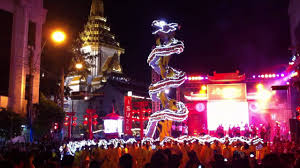 led new years bangkok chinatown new year celebrations 2012 84m led