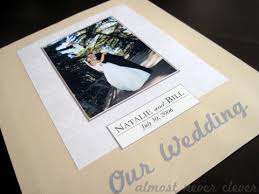 wedding scrap book scrapbook layout wedding scrapbook title page almost never clever