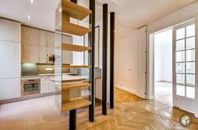 Appartement Haussmannien Deco Rénovation Appartement Cuisine Ouverte Paris Monceau 2 Ré Novateurs