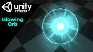unity effects tutorial game effect tutorial cветящийся шар unity3d youtube