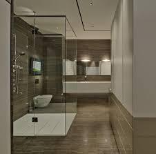 Bathroom With Wood Tile - 11 best wood bathrooms images on pinterest bathroom ideas
