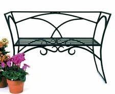 Wrought Iron Bench Wood Slats Iron Bench Ebay