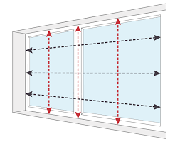 How To Measure A Roller Blind How To Measure Instructions Videos U0026 Pdfs Blinds Online