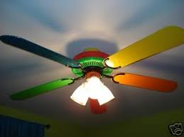 primary color ceiling fan crayola ceiling fan 12 concentrations on kids choices warisan