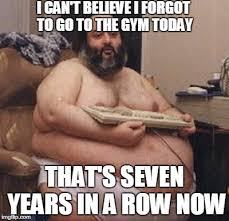 Fat Person Meme - confident fat guy imgflip