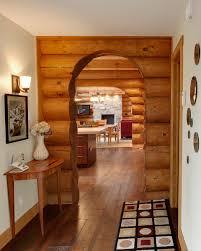 maison en bois interieur réalisations de bois rond charpenterie et autres projets harkins ca