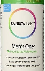 rainbow light vitamins mens rainbow light men s one multivitamin 150 count vitamins