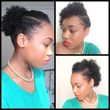affo american natural hair over 60 3 quick easy style for short natural hair wash and go 5th day