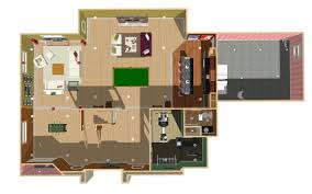 basement blueprints 3d basement gallery basement remodeling chicago area