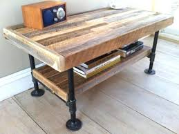 Industrial Rustic Coffee Table Industrial Rustic Coffee Table Huttriver Info