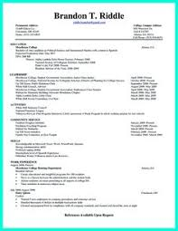 Current Resume Samples by College Intern Resume Samples As College Student Has No Experience