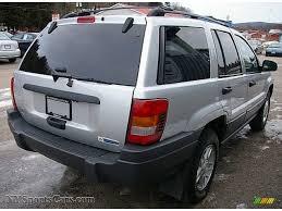 gray jeep grand cherokee 2004 2004 jeep grand cherokee laredo 4x4 in bright silver metallic