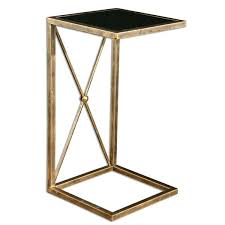 Glass Top Side Table Side Table Mainstays Round Outdoor Glass Top Side Table Disc