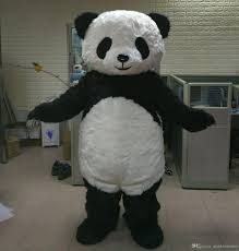 fat suit halloween costume brand new big fat furry panda bear mascot costume for panda