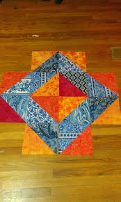What Color Is An Orange Lovely Frankenstein U0027s Quilting Laboratory A Color Theory Quilt