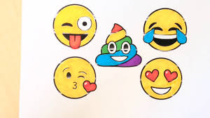 Emoji Coloring Pages Draw Color Emoji Faces Learn