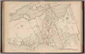 Massachusetts Colony Map by City Of Fall River Massachusetts David Rumsey Historical Map