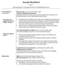 Experiential Marketing Resume Examples Of Marketing Resumes Resume Example And Free Resume Maker