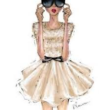 fashion sketches cute dresses outlook