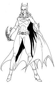 Batgirl Coloring Pages Bestofcoloring Com Batgirl And Supergirl Coloring Pages Printable