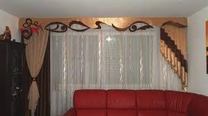 Wohnzimmer Gardinen Klassischer Wohnzimmer Vorhang Mit Großer Schabracke Und