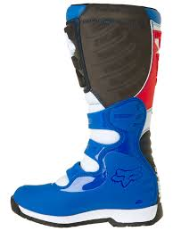 fox blue red 2018 comp 5 mx boot fox freestylextreme america