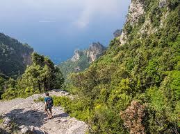Map Of Amalfi Coast Hiking The Path Of The Gods And The Amalfi Coast On A Budget