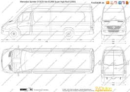 mercedes sprinter 313 internal dimensions 5 sprinter van