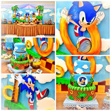 sonic the hedgehog party supplies sonic the hedgehog birthday party ideas photo 1 of 24 catch my party