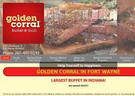 Golden Corral Buffet Breakfast by Golden Corral Buffet U0026 Grill In Fort Wayne In 5335 Distribution
