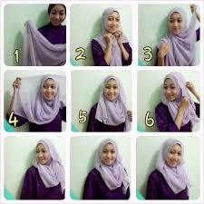 tutorial jilbab segi 4 untuk kebaya tutorial hijab pashmina jadi segi empat