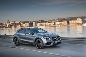 mercedes gla amg 2018 mercedes gla class drive review automobile magazine